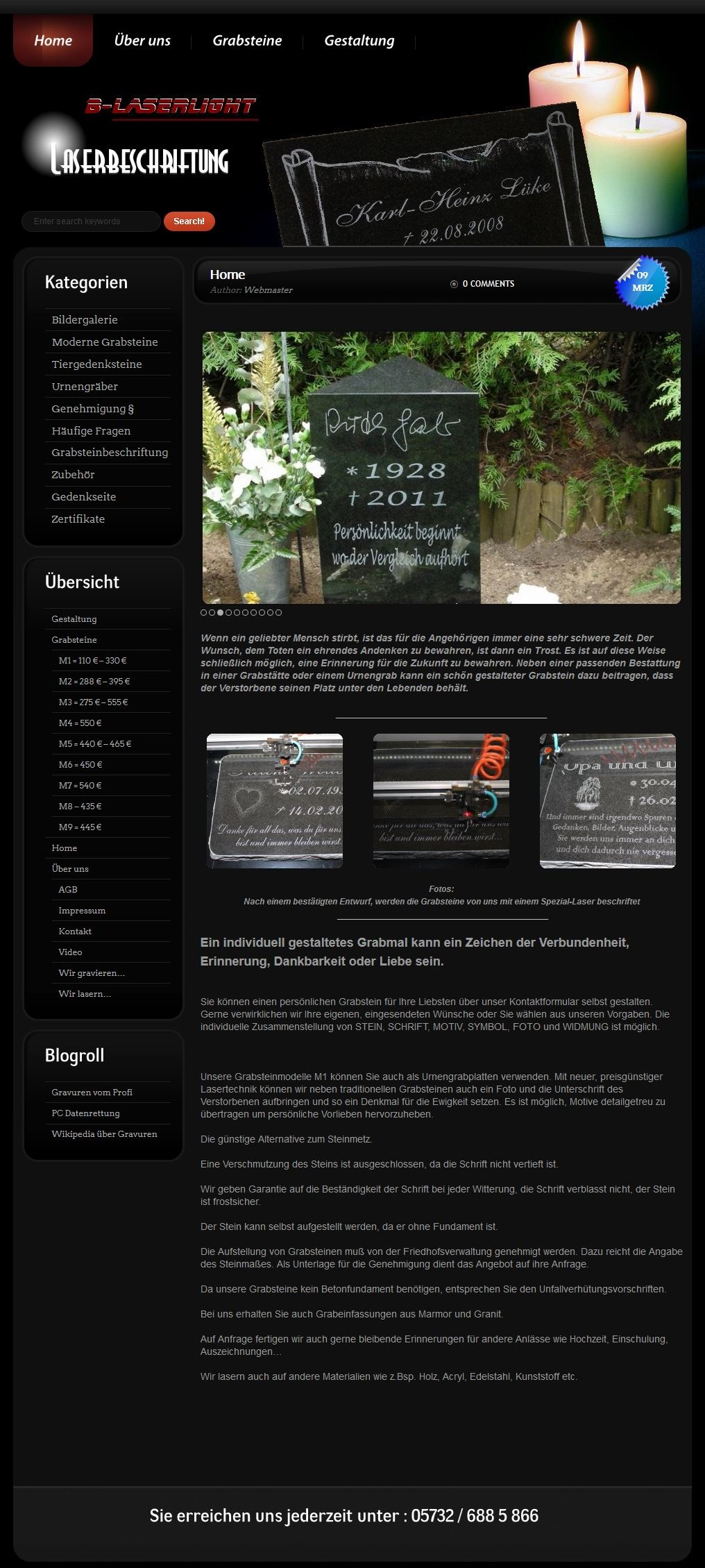 B-Laserlight-com-Startseite